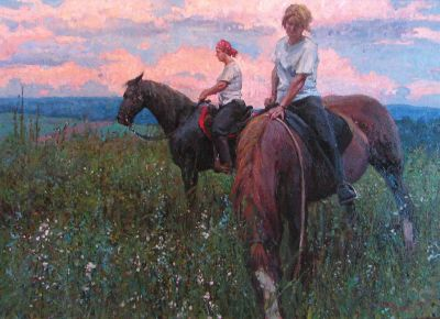 Timur Akhriev - Evening Ride
