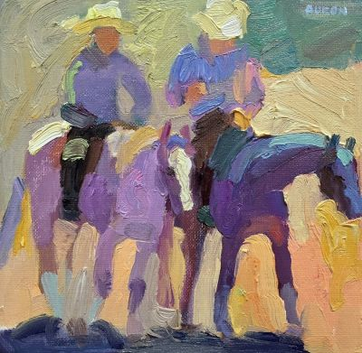 Larisa Aukon: Selected Sold Works - Friends