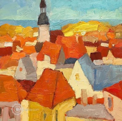 Larisa Aukon: Selected Sold Works - From the Top