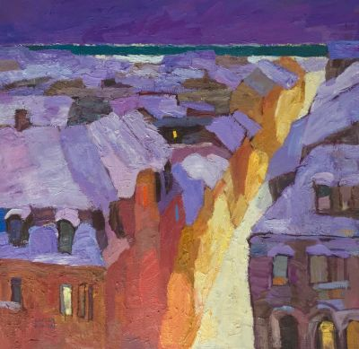 Larisa Aukon: Selected Sold Works - Tucked In