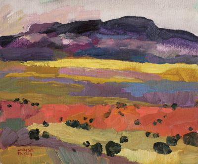 Larisa Aukon: Selected Sold Works - Pale Field