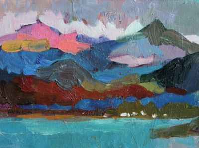 Larisa Aukon: Selected Sold Works - Clouds Over the Peaks