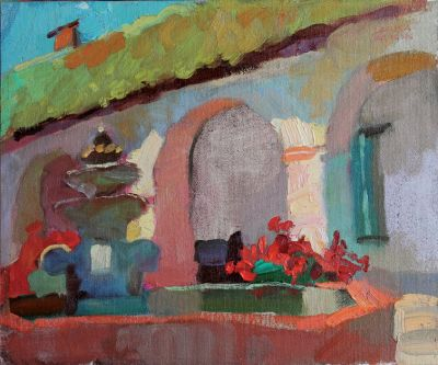 Larisa Aukon: Selected Sold Works - Fountain