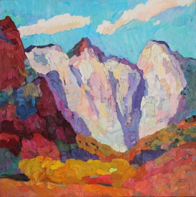 Larisa Aukon: Selected Sold Works - Temples of Today