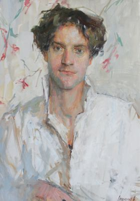 Andrey Lybchenko - Model in White