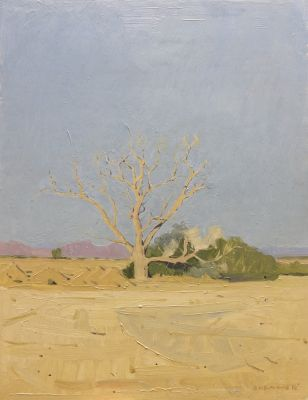 Click Here for Selected Sold Works - Evening Light on the Reservation