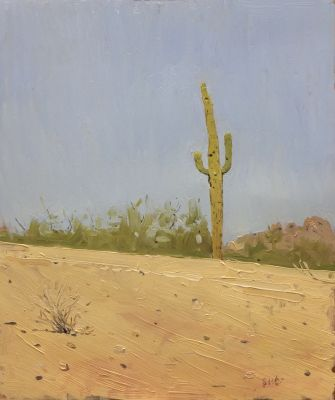 Click Here for Selected Sold Works - Papago Saguaro