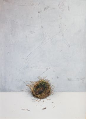 Click Here for Selected Sold Works - Restful Bird