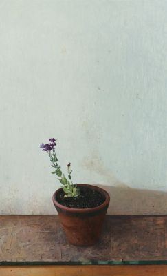 Click Here for Selected Sold Works - Purple Flowers