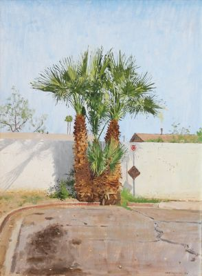Click Here for Selected Sold Works - Quarantine Palms