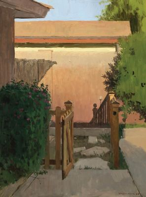 Spencer Simmons - Entrance to the Garden