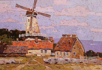 Click Here for Selected Sold Works - Farm in Holland