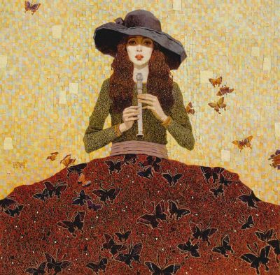 Click Here for Selected Sold Works - Butterflies