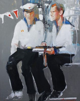 Elena Vilchukova - Two Sailors