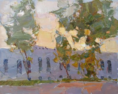 Click here to see selected sold works - Old Fortress
