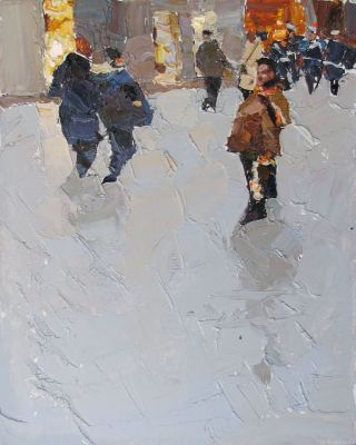 Click here to see selected sold works - Walk