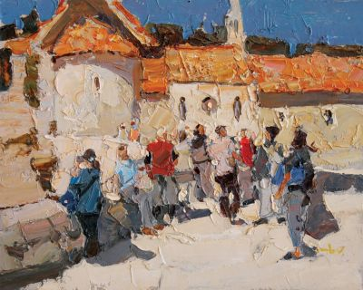 Click here to see selected sold works - Tourists