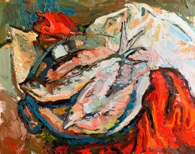 Brian Cote - Mackerel and Red Runner