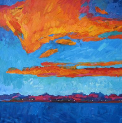 Larisa Aukon: Selected Sold Works - It Happens in August