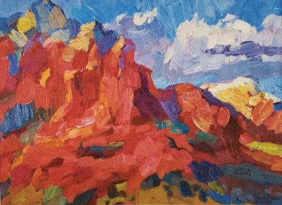 Larisa Aukon: Selected Sold Works - Under the Blue Sky