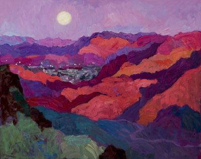 Larisa Aukon: Selected Sold Works - Moon Rise