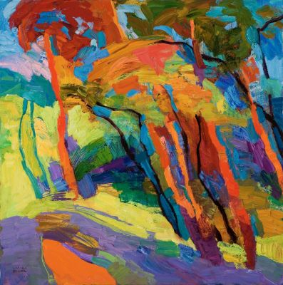 Larisa Aukon: Selected Sold Works - Summer Promises