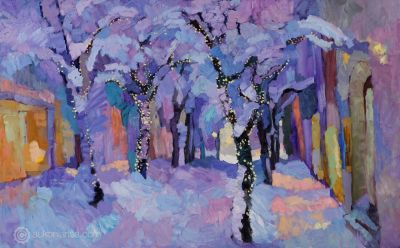 Larisa Aukon: Selected Sold Works - Tales of Winter