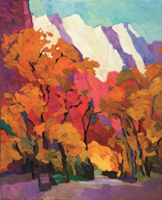 Larisa Aukon: Selected Sold Works - Coyote Trail