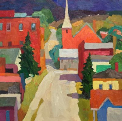 Larisa Aukon: Selected Sold Works - Townies II