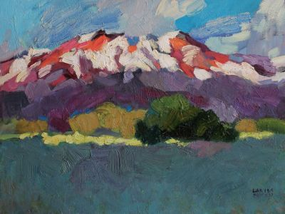 Larisa Aukon - Snow on the High Peaks