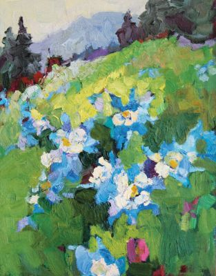 Larisa Aukon: Selected Sold Works - Columbine