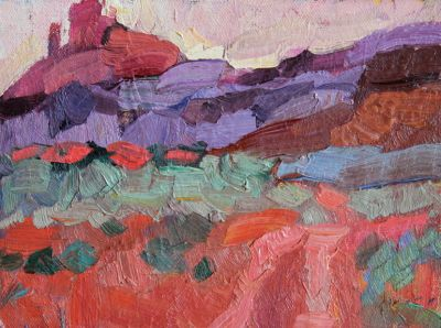 Larisa Aukon: Selected Sold Works - Sedona Trail