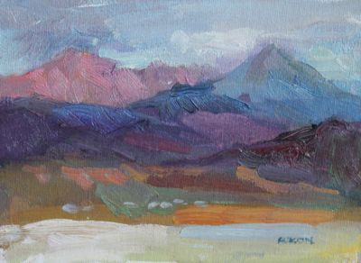 Larisa Aukon: Selected Sold Works - Two Peaks II