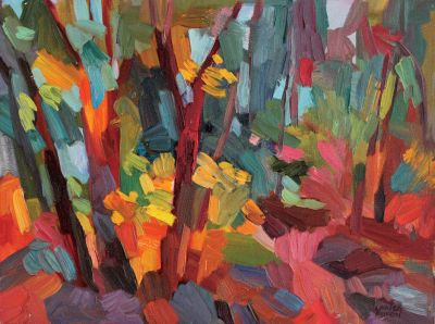 Larisa Aukon: Selected Sold Works - Forest Blend