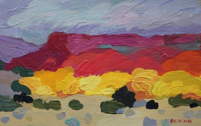 Larisa Aukon: Selected Sold Works - Golden Ribbon