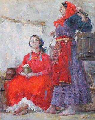 Arthur Bakhtiyarov - Two Russian Women
