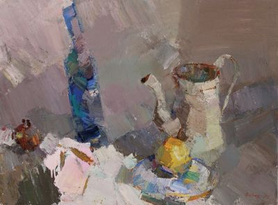 Andrey Inozemtsev - Still Life with Bottle