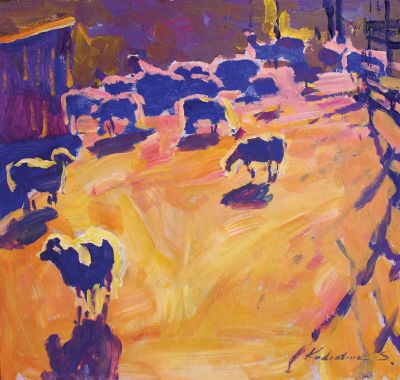 Sergei Kondratyuk - On Sheep Pasture