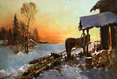 Alexander Kremer - Frozen Evening