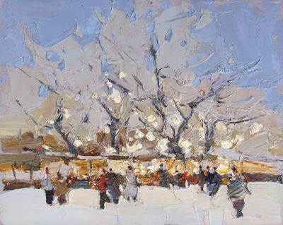Click here to see selected sold works - Winter Holidays