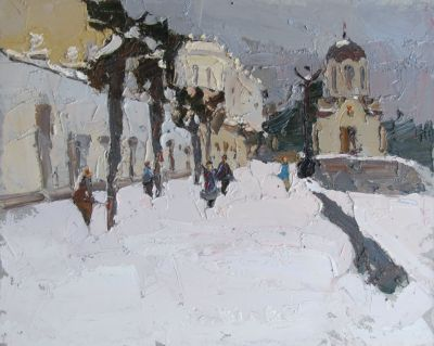 Click here to see selected sold works - Snow