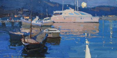 Click here to see selected sold works - Calm Evening