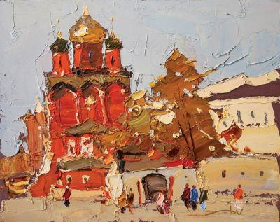 Daniil Volkov  - Red and White