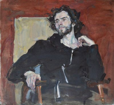 Ilya Zlobin - Portrait in Black