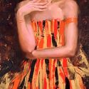 Irene Sheri - Orange Dress