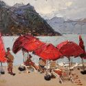 Daniil Volkov  - Red Umbrellas